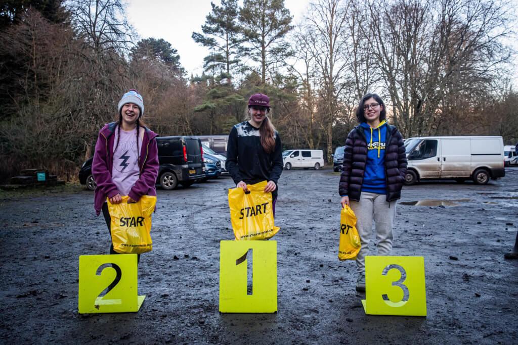 Hollie Vayo - Flow MTB - Fastest women Northern Downhill Hamsterly Enduro - Podium