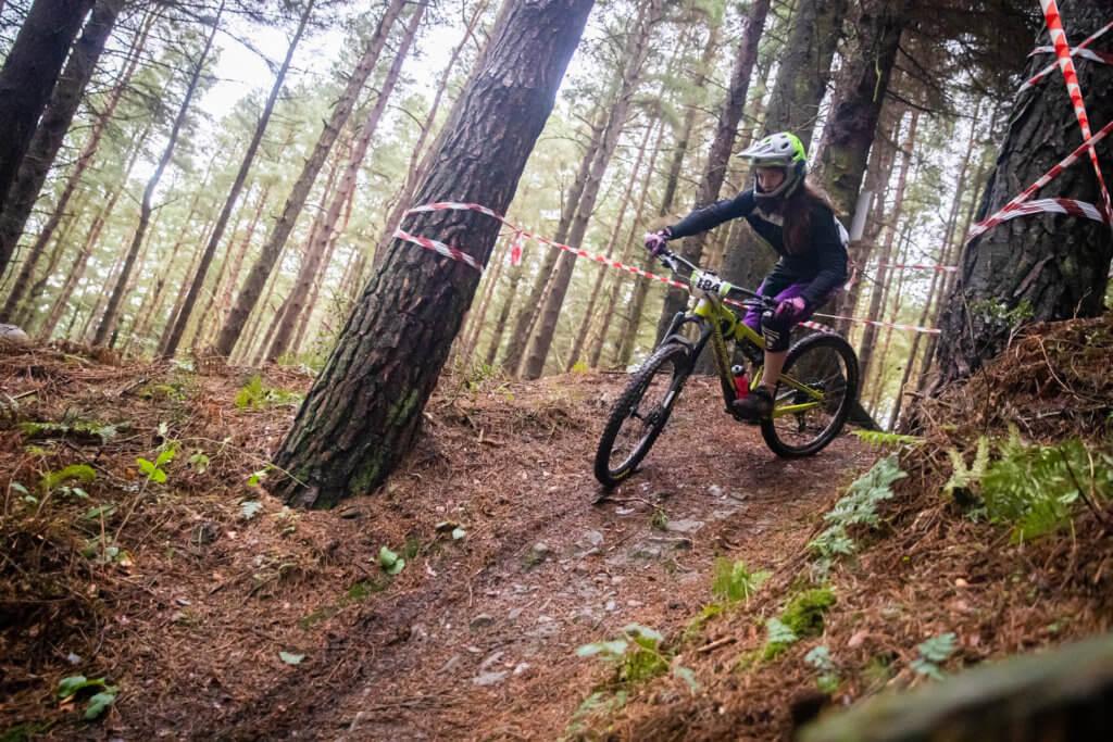 Hollie Vayo - Flow MTB - Fastest women Northern Downhill Hamsterly Enduro winner