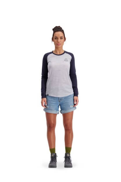 Mons Royale Women's Icon Raglan Long Sleeve MTB Jersey