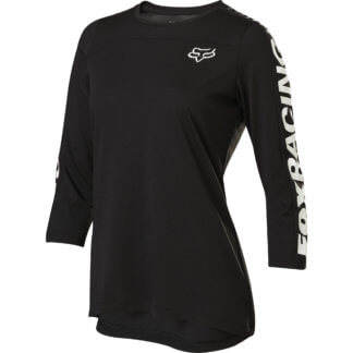 Fox Women's Ranger DriRelease® MTB 3/4 Sleeve Jersey - Black