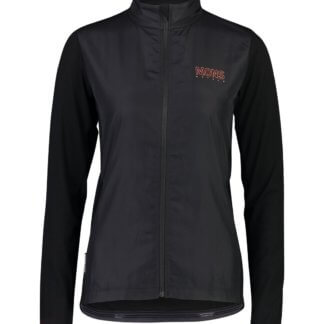 Mons Royale Women's Phoenix Wind Jersey MTB Jacket in black