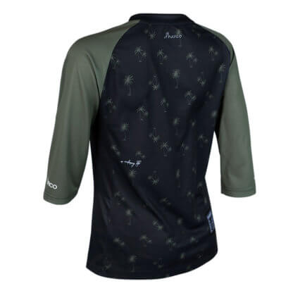 DHaRCO Women's 3/4 Sleeve MTB Jersey - Camo Palm