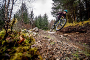 Nina Cameron No Fuss Intro Enduro at Nevis Range.
