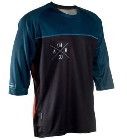 DHaRCO MENS 3/4 SLEEVE JERSEY | SLATE/RED