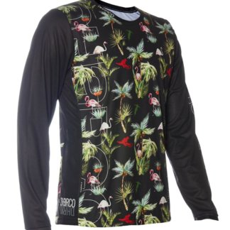 DHaRCO Men's Long Sleeve MTB Jersey - Party Print